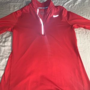 Women's Nike dri element half zip